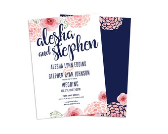 Standard  Wedding Invitation Card (25 pack)
