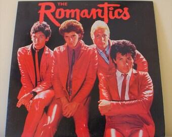 "The Romantics - Self-Titled (1979), 12"" Vinyl LP Record Album 1981 Issue, VG++, Nemperor PZ 36273"