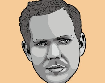 Custom Illustration - Headshot