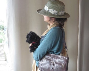 Nathalie Andersen Women 's Shoulder Bag in Lambskin, Vintage, Brand New