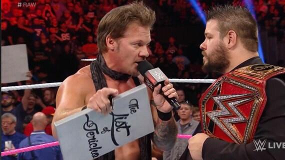 Wwe The List Of Jericho Chris Jericho Clipboard Decal Sticker