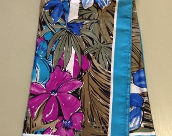 Vintage Oroton Scarf retro tropical print new with packaging