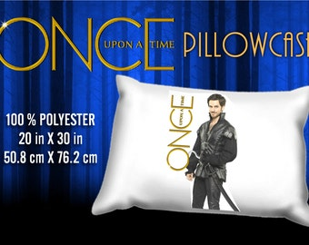 Once Upon a Time Captain Hook  Colin O'Donoghue Pillowcase
