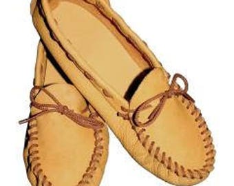 Leathercraft Kit-Scout Moccasin - Size 12/13