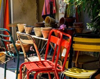 Provence Café Chairs