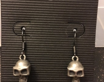Skull and Bones Earrings