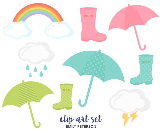 rainbow umbrella clip art - photo #45