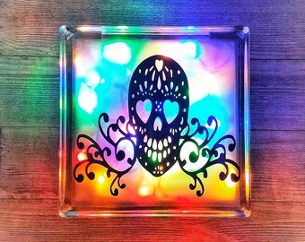skull decor sugar skull sugar skull decor skull home decor gothic decor