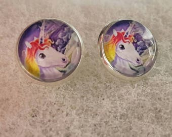 Your favorite earrings – cabochon - stainless steel