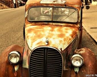 Classic Cars, Rat Rod Photography, Patina Hot Rod, Car Photography, Classic Trucks, Rusty Rat Rod, Wall Art, Fine Art Photography, Rusty Art