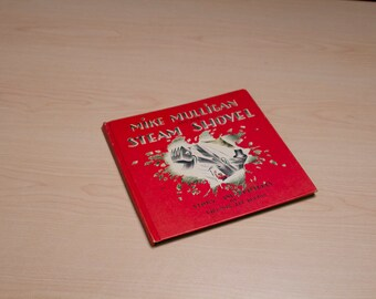 70's Weekly Reader Children's Book Club - Primary Div. MIKE MULLIGAN and his STEAMSHOVEL