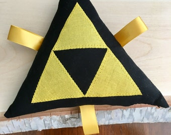 Triforce Baby Rattle Toy, Zelda Inspired