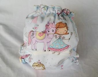 Unicorn all in two cloth diaper