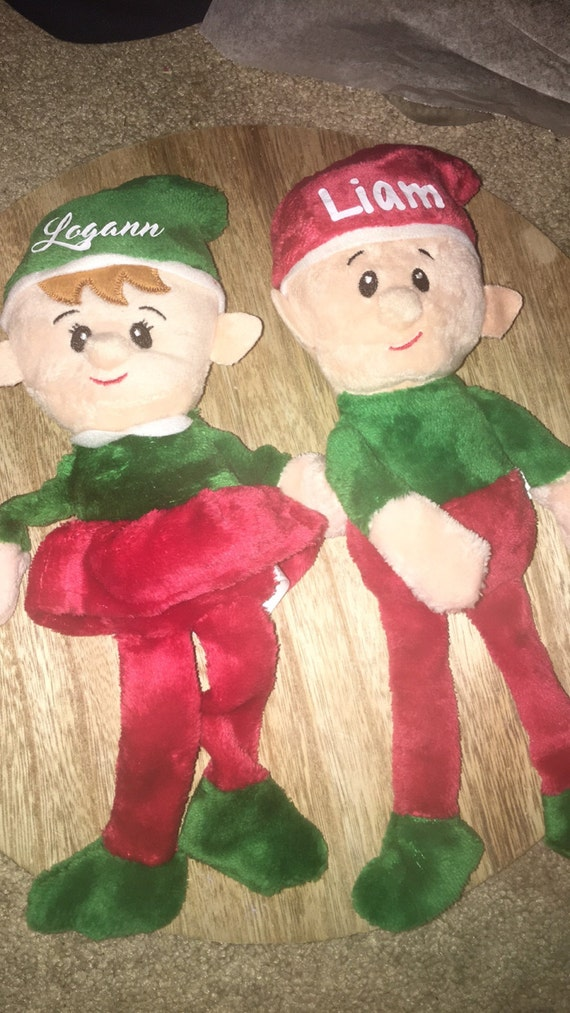 Boy and girl elves