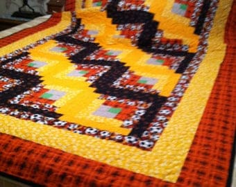 Matching twin bed quilts