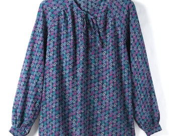 Top 1970's vintage made in Japan Showa retro Paisley