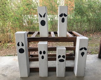 Wooden Ghost Posts