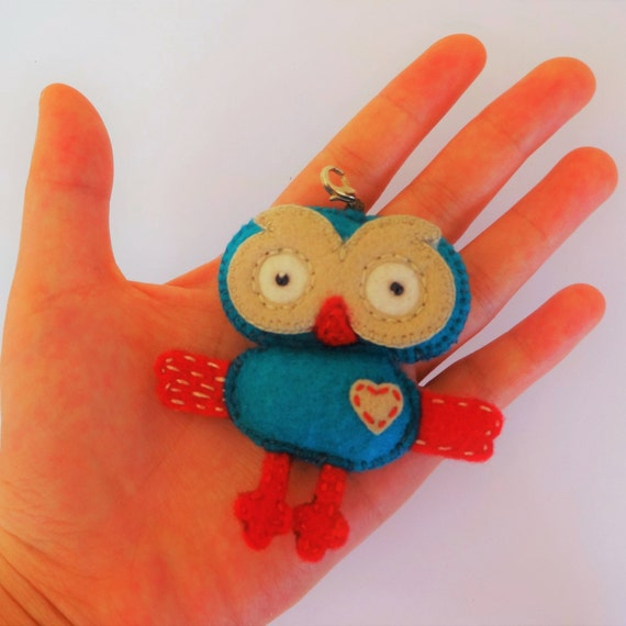 Hoot the Owl Charm