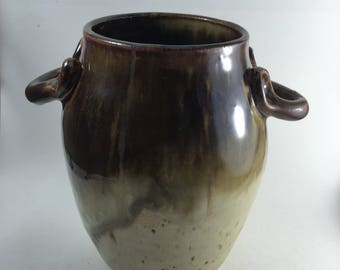 Ceramic vase, Handle vase, flower arrangement vase, pottery vase