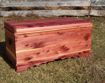 Aromatic Cedar Chests - Order Page