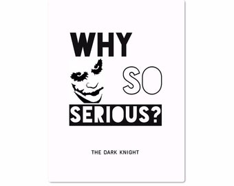 why so serious etsy