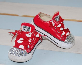 Girl Chuck Taylor-Converse-Minnie Mouse-Shoes
