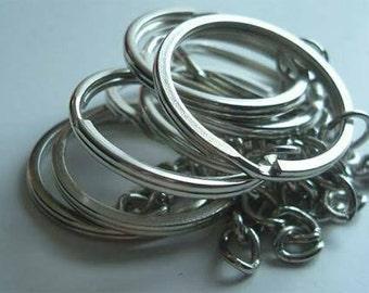 100 rings for Keychain (full hardware)