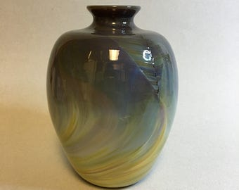 Beautiful Art Glass Vase