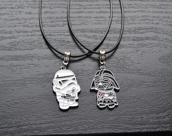Star Wars Stormtrooper/Darth Vader Necklace