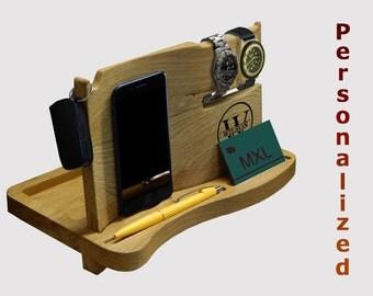 Docking Station, Christmas gift for men, birthday gift, iphone holder, iPhone Docking Station, charging dock, Gift for Men