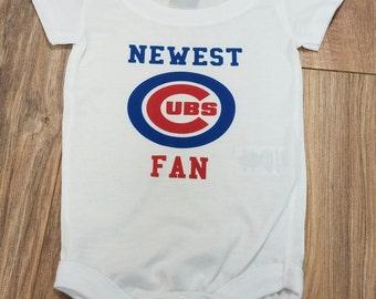 Newest Cubs Fan Onesie