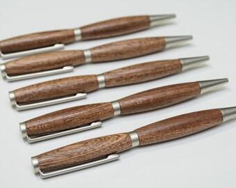 Mahogany pens