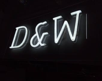 Handmade customized ledneon sign to replace the glass beon sign