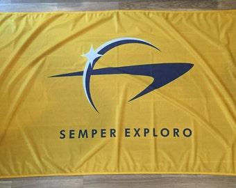 New Star Trek Flag   Starfleet Command   Long Lasting Flag