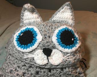 Hooded cat blanket (child)