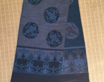 Vintage Made in Germany wool scarf