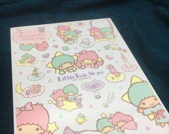 Little Twin Stars sanrio wall stickers