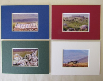 Orkney - Rackwick in stone: set of 4 mount-cards
