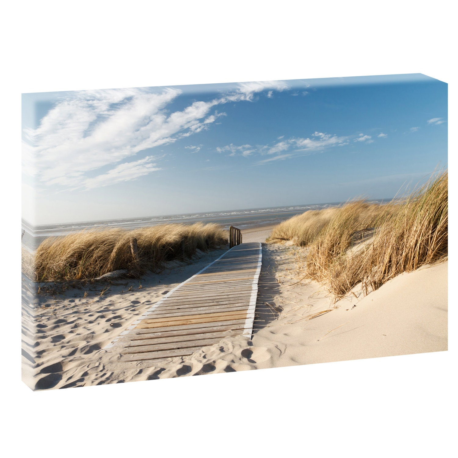 nordseestrand bild strand meer nordsee poster leinwand xxl. Black Bedroom Furniture Sets. Home Design Ideas