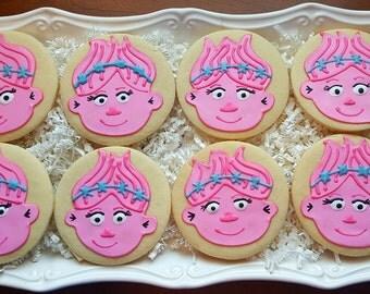 Troll Cookies Party Favors One Dozen