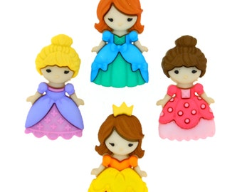 Belle of the Ball Dress It Up Button Pack