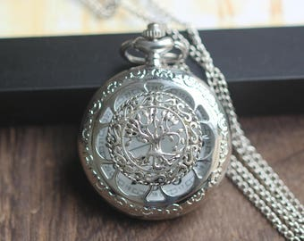Nightingales necklace steampunk jewelry Christmas gifts