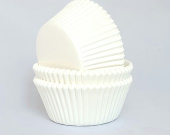 High Quality White Standard Size Cupcake Cases Cupcake Liners