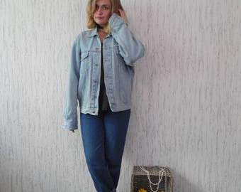 Vintage Oversized Jeans Jacket