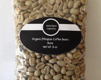Organic Ethiopian Coffee Beans