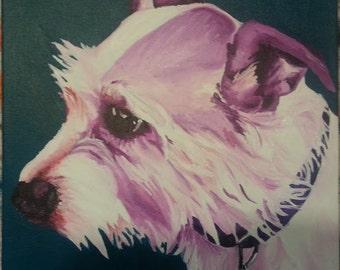 Pet Portrait - 10x10