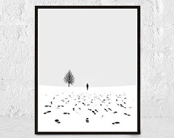 minimal print black and white art instant download minimalist print home decor wall decor scandinavian poster printable wall art minimal art