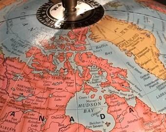 Imperial Globe by George F. Cram company 12 inch