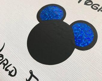 Disney Autograph Books - Personalised - Paris - Florida