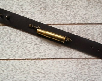 Bullet Casing Cuff Bracelet | Brass Bullet Bracelet | Unisex Jewelry | Gifts For Him | Gifts For Her